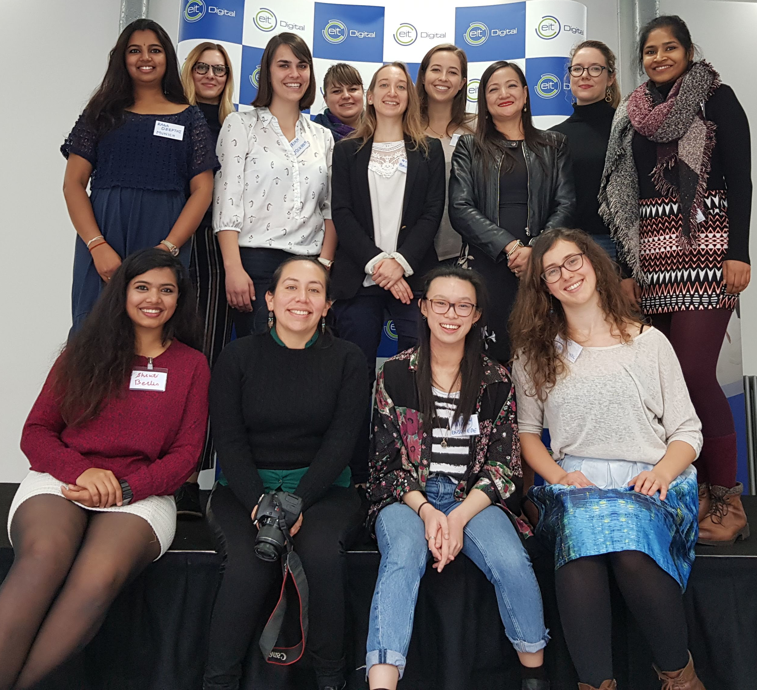 Women at Eit Group Picture, some members of our community
